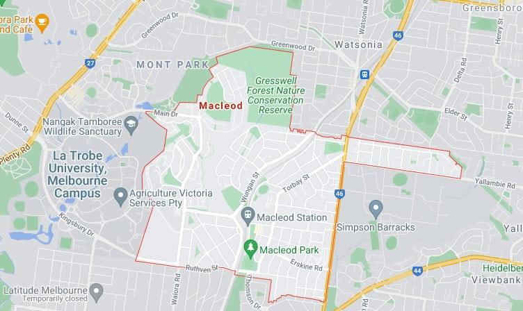 Macleod Map Area
